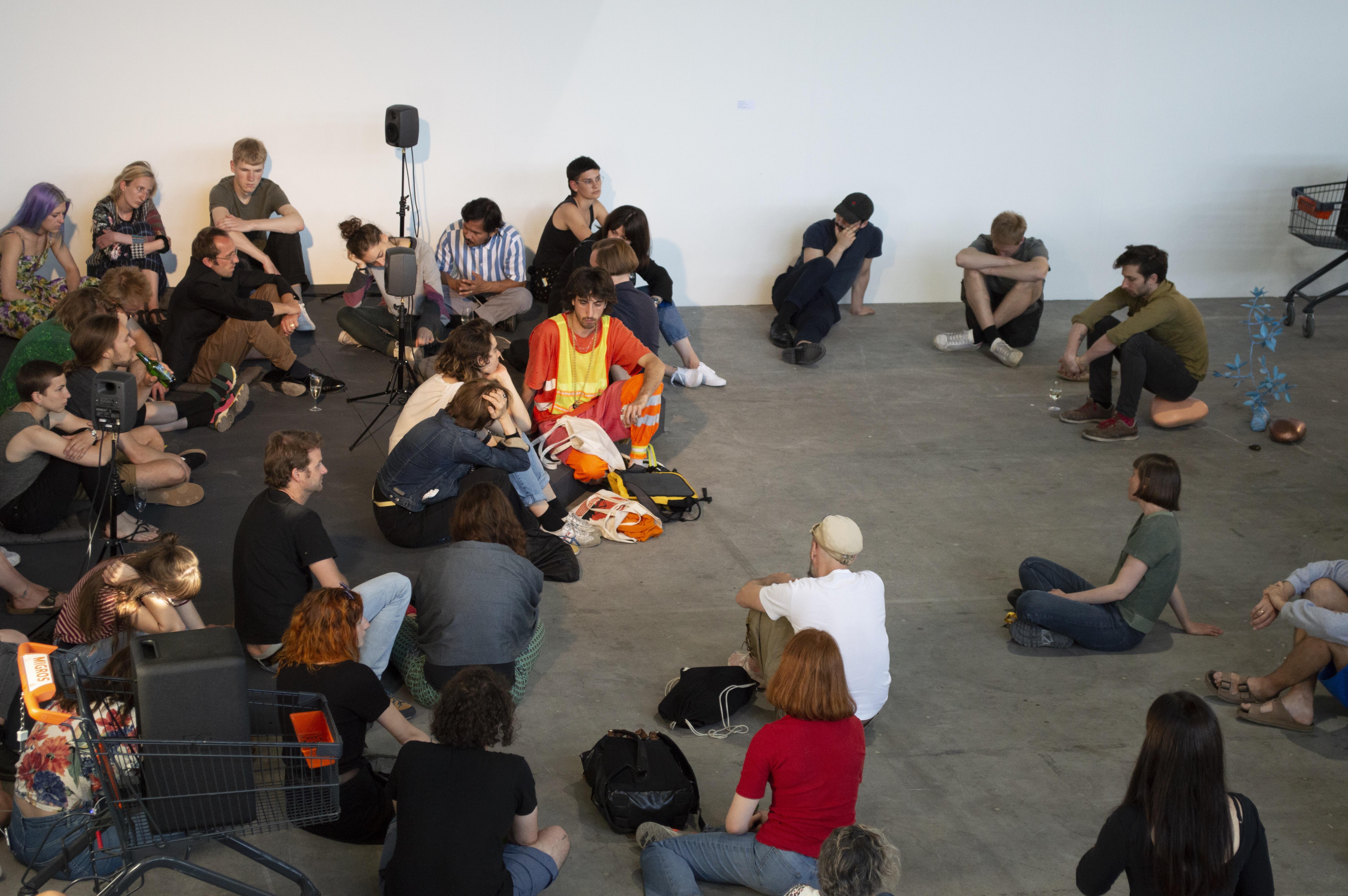 Öffentliche Vorführung, Werkschau Design und Kunst, 2019.