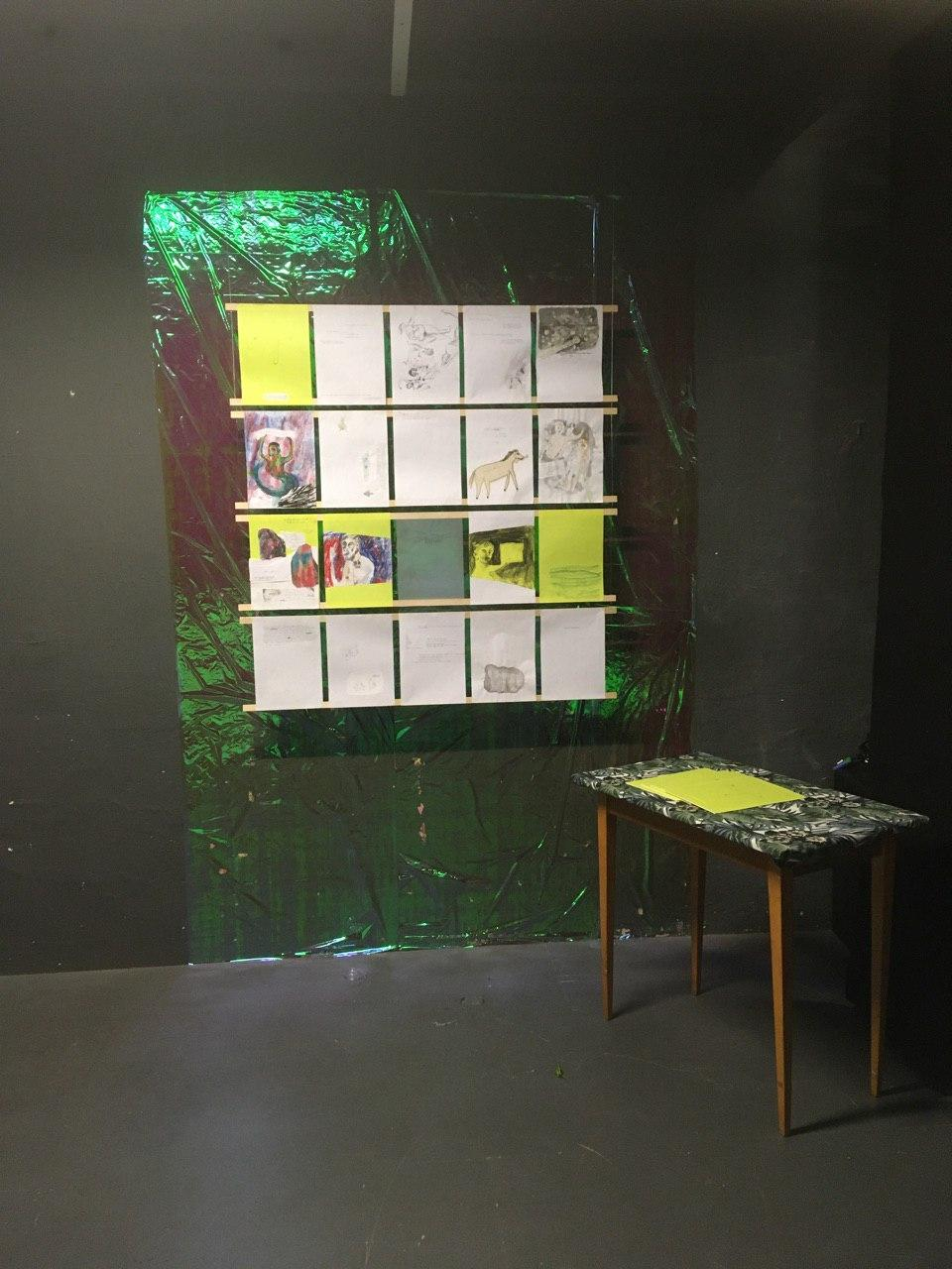 Ausstellungsansicht, Lila Festival 2019, Rote Fabrik, Zürich, 2019.