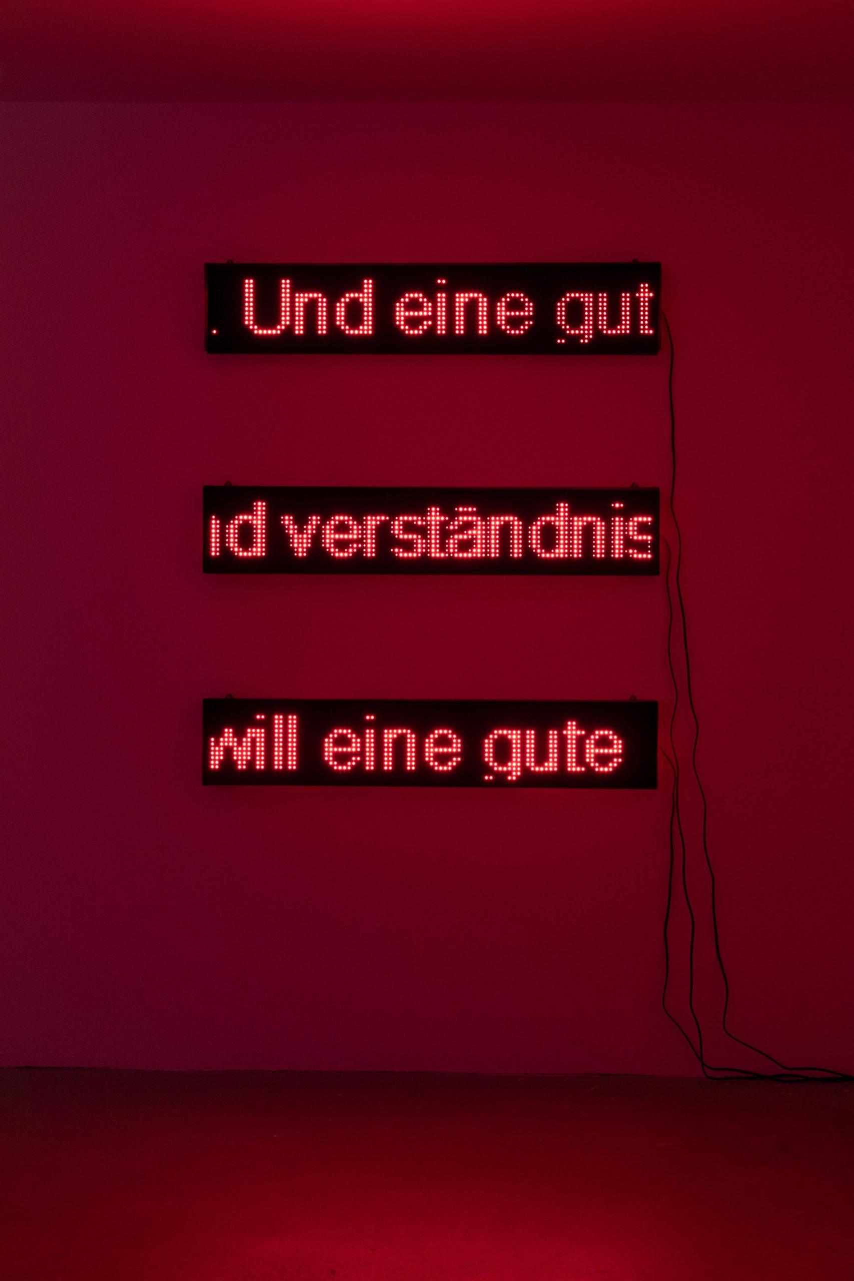 """Ongoing Manifesto"", Kunsthalle Luzern, 2020"